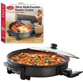 Quest 35410 Multi-Function Electric Cooker, 30Cm, 1500W