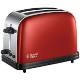 Russell-Hobbs 23330 Colour Plus 2-Slice Toaster Red