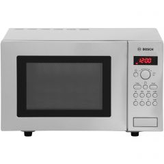 Bosch HMT75G451B Microwave Oven With Grill 17 Ltr 800W Brushed S/Steel ......Agency