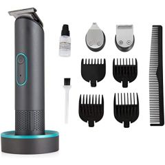 Carmen C81083 3 In 1 Cordless Clipper Set, 4 Sets Of Combs, 35 Minute Li-On Battery, Charging Base