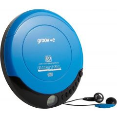 Groove GVPS110BE Personal CD Player Blue
