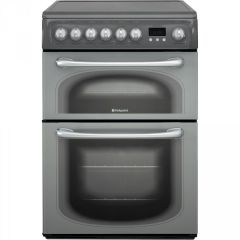 Hotpoint 60HEG 60Cm Double Oven With Fan Ceramic