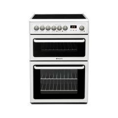 Hotpoint HAE60PS 60Cm Ceramic Elec•Double Oven With Main Fan Oven