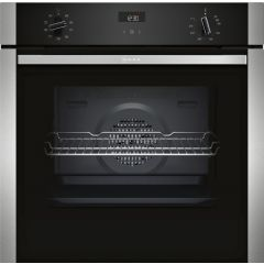 NEFF B1ACE4HN0B Electric CircoTherm Single Oven Oven - BLACK/STEEL