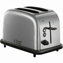 Russell-Hobbs 18780 Futura 2 Slice Toaster Brushed / Polished Stainless Steel