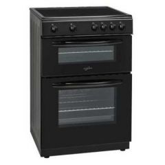 Statesman EDC60B Electric Cooker, Ceramic Top, Double Oven, 63/36L, A Rated
