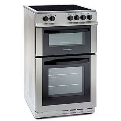 Statesman EDC60S Electric Cooker, Ceramic Top, Double Oven, 63/36L, A Rated